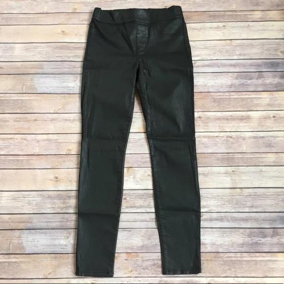 f23eb19d0ec312 Madewell Pants | Skinny Skinny Coated Legging | Poshmark
